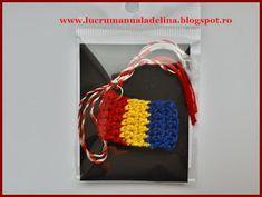 lucru manual adelina: Martisor tricolor Doilies, Macrame, Manual, Crochet Necklace, Blog, Jewelry, Xmas, Patterns, Jewlery