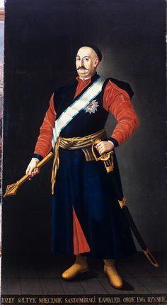 Portret Józefa Sołtyka (miecznika sandomierskiego) Malarz nieznany ok. 1780, Polska płótno, olej 246 x 132 cm