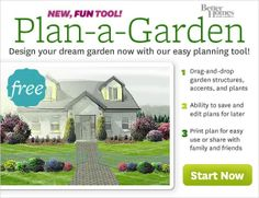 "Design a patio-side container garden, a   full garden or design your whole yard. Just ""drag-and-drop"" 100's of trees,   shrubs, and flowers. Plus dozens of structures, sheds, fences, decks -- and   more!"