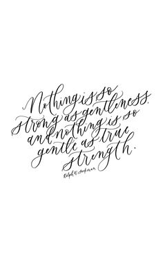 Ralph W Sockman, calligraphy quote, handlettering