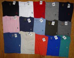 6be6742fd Polo Ralph Lauren Mens T Shirt Brand New With Tag CREWNECK Tee S M L XL XXL  Ralph