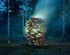 Light Sculpture by Thomas Jackson