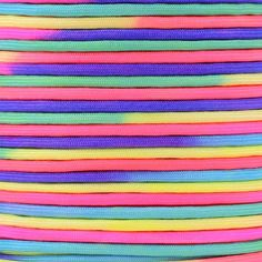 Colorful Rainbow Cord Tie Dye Style Type III 7 Strand 550 Paracord  Available in two shades  Bold  Pastel * You can find more details by visiting the image link.Note:It is affiliate link to Amazon.
