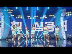 150717 AOA 뮤직뱅크 심쿵해 - YouTube