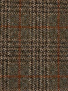 Tweed fabric sample; Heavyweight Knockando Woolmill Strathspey; InTweed