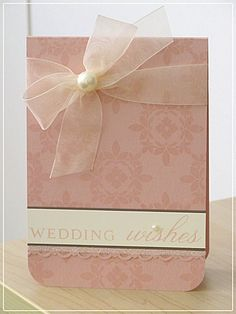 great wedding card and easy too!