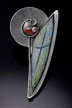 Brooch by Deb Karash