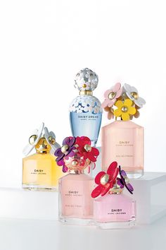 Daisy, Dream, Honey, and Sorbet...so many Marc Jacobs fragrance choices.