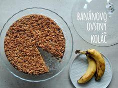 Najzdravší a najchutnejší banánovo-ovsený koláč Tiramisu, Cookies, Ethnic Recipes, Sweet, Food, Basket, Biscuits, Meal, Essen