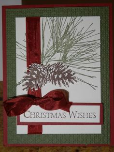 Ornamental Pine by jo1171 - Cards and Paper Crafts at Splitcoaststampers