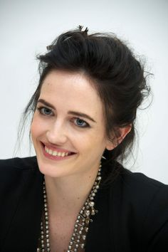 Eva Green is a natural blonde, that's why her face is so pale. Description from fragrantica.com. I searched for this on bing.com/images