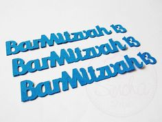 Bar Mitzvah Confetti Barmitzvah Mixed Pack 13 by SimchaCentralShop