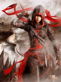 Inspiré par Assassin's Creed Chronicles Chine Shao Yun Halloween Cosplay Costume
