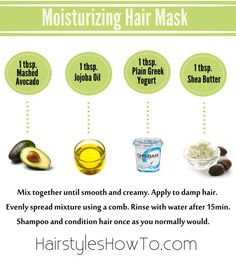 How to Make a Moisturizing Hair Mask for Keeping Your Hair Soft & Shiny