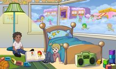 BreezyPals™' Room Early childhood development, Skills in children http://breezypals.com/landing/land.html