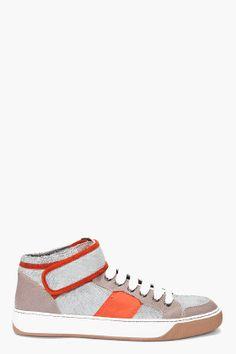 Lanvin Velcro Sneakers