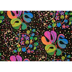 Textile Teheran by Josef Frank. The name Teheran (Tehran in English), as well as the small, radiant flowers, indicates that the pattern is an interpretation of a Persian carpet. Swedish design from the 1940s.