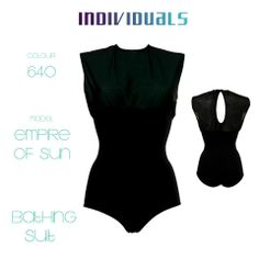 #bathing #suit #empire of #sun #tulle #black