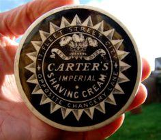 Carter's Shaving Cream Pot Lid