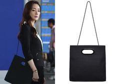 "Choi Ji-Woo 최지우 in ""Temptation"" Episode 3.  Havianoo Ezrah Bag #Kdrama #Temptation 유혹 #ChoiJiWoo"