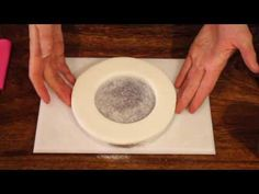 ▶ How to ice a cake board Zoe's Fancy Cakes How To Tutorial Zoes Fancy Cakes - YouTube