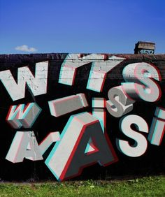 Wais is a Russian graffiti artist who's walls drift somewhere between old school graffiti and street art. Imaginative and fresh styles pulling influences from all over the world, some of his texture effects would put Pixar to shame. Slick plasticated abstractions are lavished on his one objective, to build his rep.