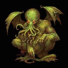 creepy, horror, and cthulhu image