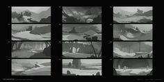 The Departed - The Grasslands Thumbnails 001, Lap Pun Cheung on ArtStation at https://www.artstation.com/artwork/the-departed-the-grasslands-thumbnails-001