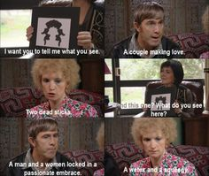 This scene from Kath and Kim still cracks me up.