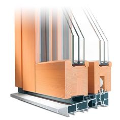 Parallel-schiebe-kipp-tür Aus Holz-alu - Profil Idealu Trendline ... Balkonturen Modelle Terrasse Veranda