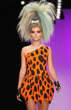 A high fashion Flinstones costume | 11 Outfits You Gotta Be Comfortable With Yourself To Wear A YABBA DABBA DON'T.