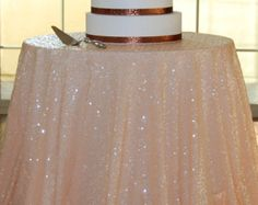 white wedding table cloths with sparkle - Google Search