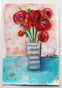 My Art Adventures: Abstract Florals...