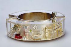 asagi maeda - department store of dreams Jewelry Art, Vintage Jewelry, Jewelry Accessories, Jewelry Design, Jewelry Ideas, Hand Chain, Unusual Jewelry, Plastic Jewelry, Contemporary Jewellery