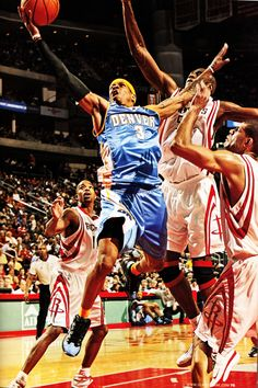 Iverson goes up against Mutumbo, '07.