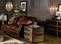 Love the colour on the walls - Timothy Oulton