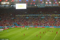 Brasil 2014 – Spain v/s Chile in photos   Football Wallpapers