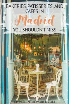 Looking for the best bakeries, patisseries and cafes in Madrid? Read here about … Looking for the best bakeries, patisseries and cafes in Madrid? Read here about nine delicious options you really have to try Europe Travel Tips, Spain Travel, European Travel, Travel Destinations, Travel Hacks, Travel News, Travel Guide, Ibiza, Menorca