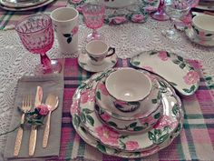 My grandmother started a collection of Desert Rose dishes back in the 60's. She left them to her only daughter, my sweet mother.....and...