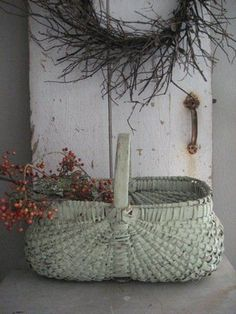Basket with Bittersweet