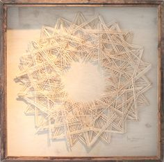 Tahiti Pehrson, layered monochromatic 3D cut paper piece