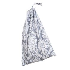Laundry Bag in Chateau Silver print- by Bebe au Lait