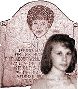 "Solved cold case of the murder of ""Tent Girl"" a young woman's body found in Georgetown, Kentucky 1968 bundled in a green tarpaulin."