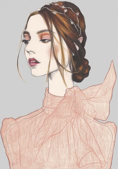 Pippa McManus, fashion illustration