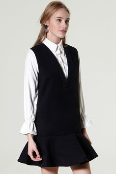Eva 2 in 1 Shirt Dress Discover the latest fashion trends online at storets.com #dress #twoway #shirtdress