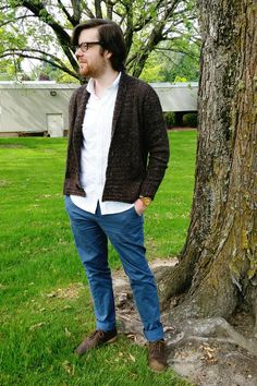 Slade Cardigan Pattern and Yarn Review w/pattern link