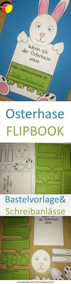 Crafting template for Easter in elementary school. Design and describe with your students this great Easter Bunny Flipbook. What Is Parenting, Albania Travel, Learn German, School Planner, Child Face, Easter Crafts For Kids, Educational Activities, Social Skills, School Design