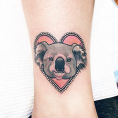 """laurenwinzer: """"We come from a land down undaaa! S being this one back to the UK with Cazz thank you so much! Koala Tattoo, Australian Tattoo, Piercing Tattoo, Piercings, Feminist Tattoo, Love Tattoos, Heart Tattoos, Tatoos, London Tattoo"""