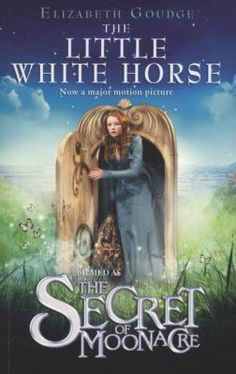 The Little White Horse (Book) : Goudge, Elizabeth : The beautiful valley of Moonacre is shadowed by the memory of the Moon Princess and the mysterious little white horse. When Maria Merryweather comes to live at Moonacre Manor she finds herself involved with an ancient feud. She is determined to restore peace and happiness to the whole of Moonacre Valley, and Maria usually gets her own way! This special edition includes eight pages of color stills taken from the upcoming motion picture.