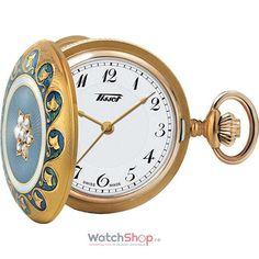 Ceas Aur de 18k Tissot T-POCKET T856.205.19.012.00 160Th Anniversary